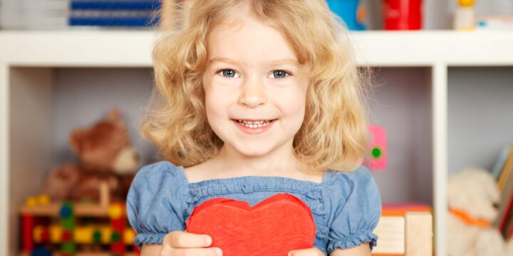 Valentine's Day with Kid's Care Group